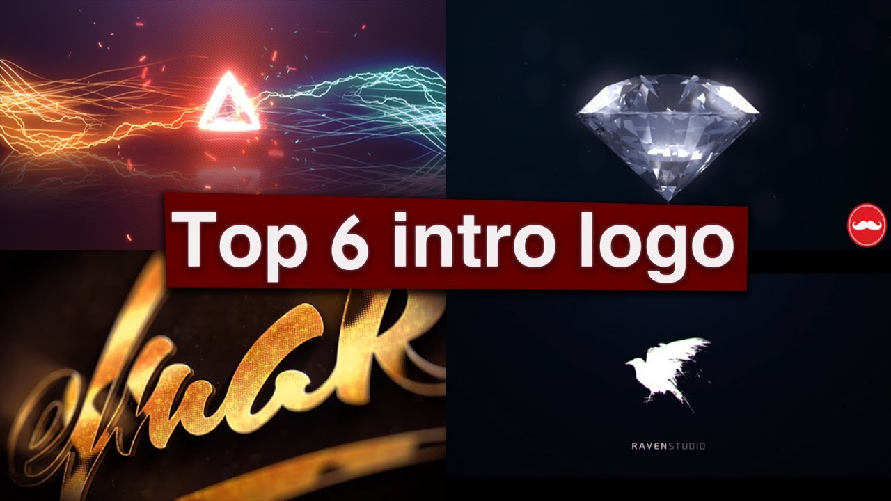 Top 6 intro logo Template Free After Effects #1