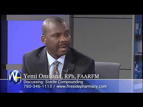 Sterile Compounding Lab with Yemi Omilana, Rph, FAARFM Palm Springs Compounding Pharmacist