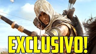 GAMEPLAY EXCLUSIVO DE AC ORIGINS DIRETO DA UBISOFT!