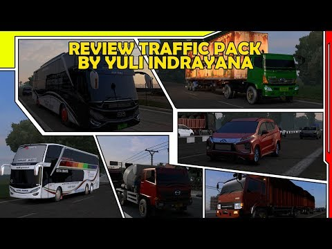 MACAMNYA MELIMPAH !!! | REVIEW TRAFFIC PACK BY YULI INDRAYANA | ETS2 Mod Indonesia Review