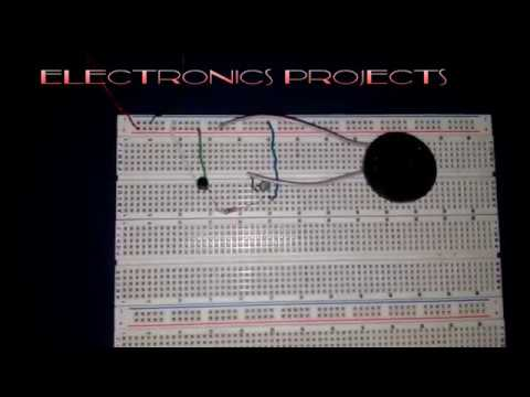 how to make musical bell electronics projects for engineering students