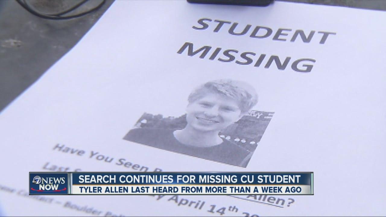 missing cu boulder student
