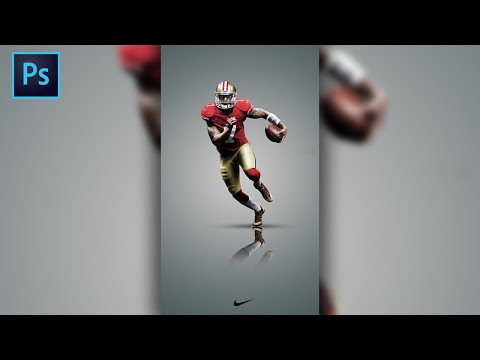 Basic Photoshop Tutorial: Create A Simplistic And Clean Sports Poster