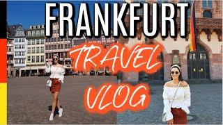 Frankfurt Travel Vlog 2019 | Tips | GERMANY VLOG |