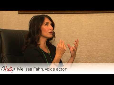 Otalku: Melissa Fahn, voice actress