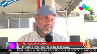 Buen Gobierno Sandinista desarrolla obras de mejoramiento y embellecimiento en Granada