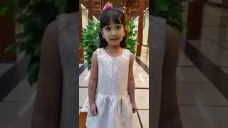 Cute Indian girl singing malayalam song