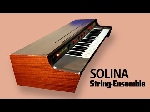 SOLINA / ARP STRING-ENSEMBLE 1973 | HD DEMO