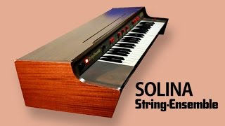 SOLINA / ARP STRING-ENSEMBLE 1973 | HD DEMO
