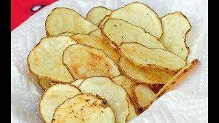 Чипсы в микроволновке быстро, просто и вкусно! Натуральные чипсы в домашних условиях!