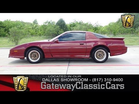 1987 Pontiac Firebird Trans Am GTA LS Swapped #719-DFW Gateway Classic Cars of Dallas