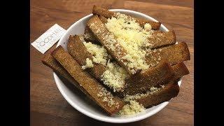 Гренки с сыром и чесноком: рецепт от Foodman.club