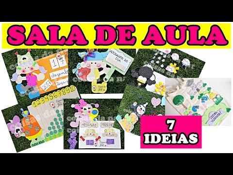 7 IDEIAS PARA SALA DE AULA -  ALÔ PROFESSORINHA!