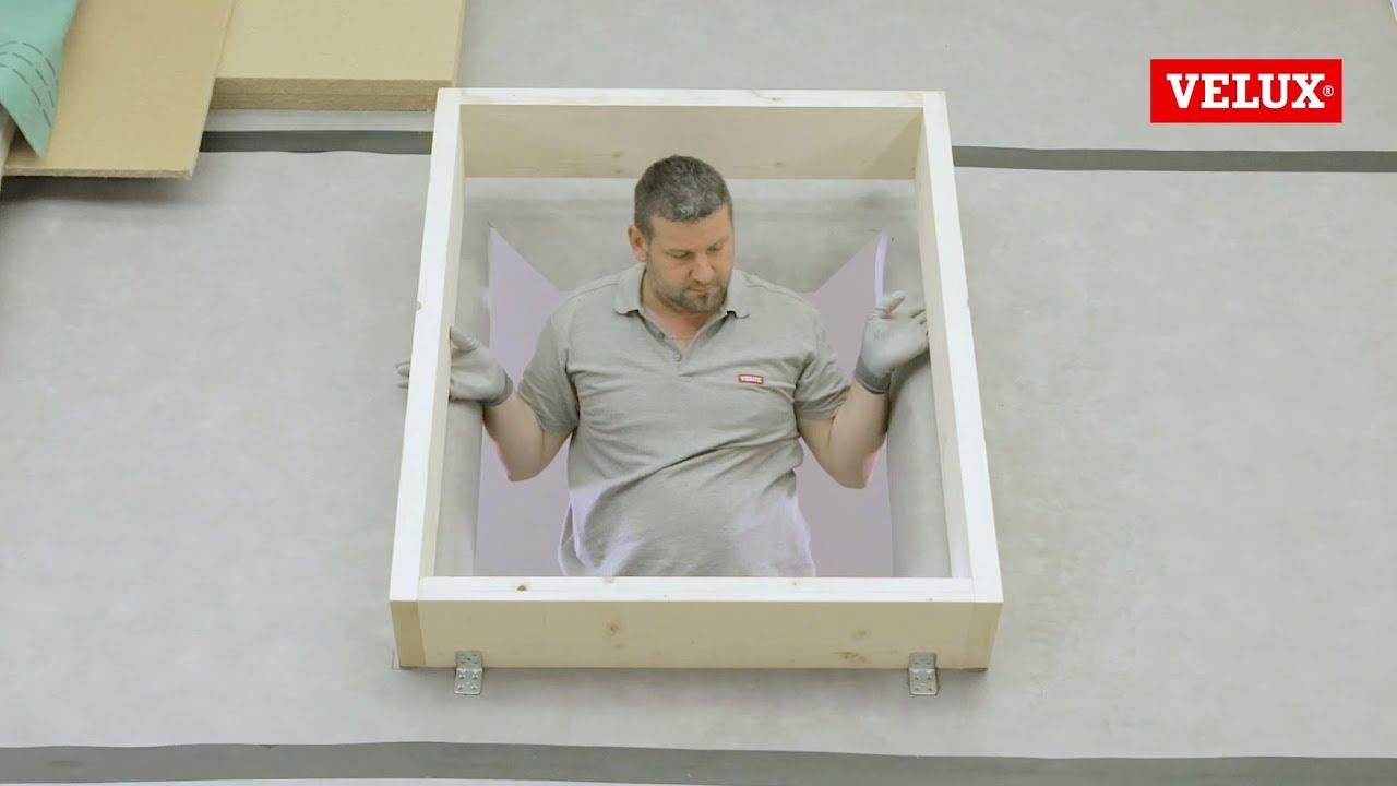 Come installare una finestra per tetti velux youtube for Misure lucernari per tetti