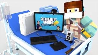 Minecraft: MEU COMPUTADOR QUEBROU - (Cirurgia Minecraft )