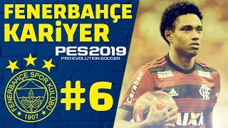 Yeni Transfer ve Şok eden MAÇ // PES 2019 Fenerbahçe Kariyer Analig #6