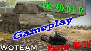 world of tanks blitz    pz iii iv and vk 30 01 d powerhouse mediums