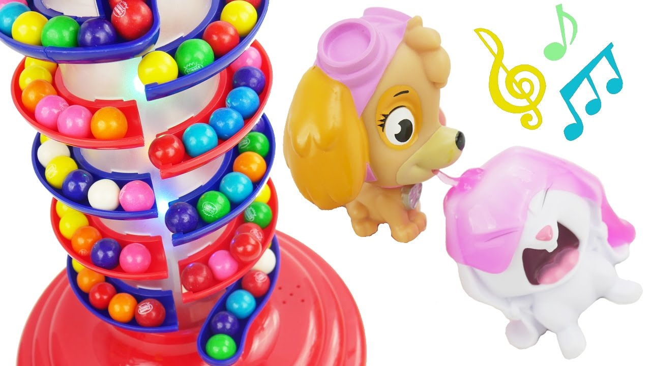 Learn Colors Paw Patrol Baby Color Matching Cookies Game