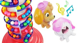 Best Learning Colors Video for Children - Paw Patrol Baby Pups Skye and Chase Shapes Cookie Cutters