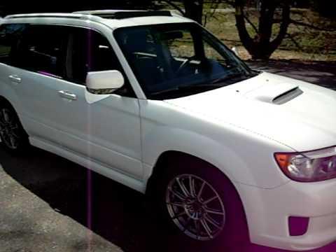 2008 Subaru Forester Sports Xt Youtube