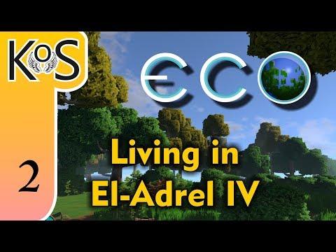 Eco El-Adrel IV Ep 3: THE IMPERIAL DISTRICT - Multiplayer - Voxel Builder/RPG - Let's Play