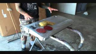 HOW TO: Color Sand And Buff-Custom Car Painting-Part 2