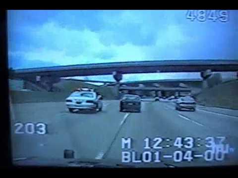 Warren Michigan Crazy Police Chase