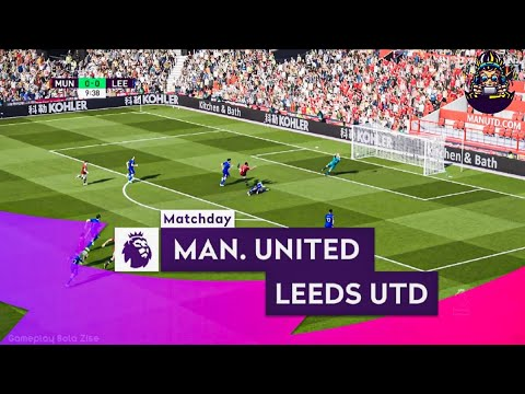 FIFA21 - Premier League MatchDay 1 of 38 | Manchester United F.C. Vs Leeds United 4K HD |