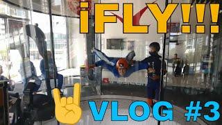Indoor Skydiving, iFly Gold Coast - Vlog #3 | Life outside YouTube, Birdalert (SHORT)
