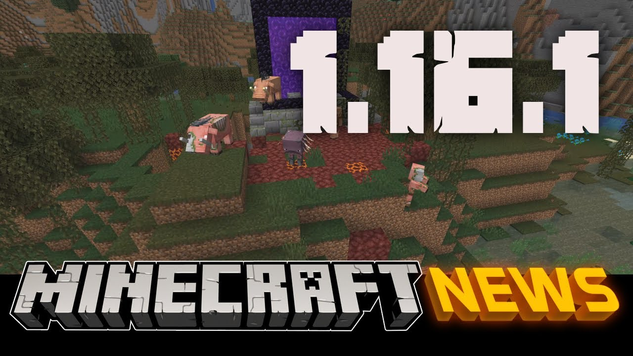 What S New In Minecraft Java Edition 1 16 1 Youtube