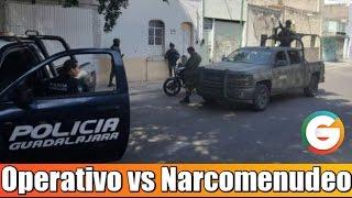Operativo contra Narcomenudeo deja 7 detenidos
