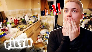 OCD Cleaner Is Shocked At Filthy Flat | Obsessive Compulsive Cleaners | Filth