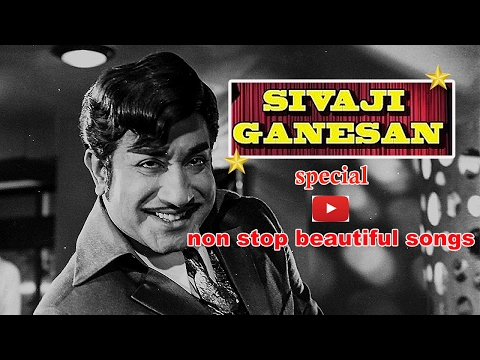 Mesmerizing Melody Songs of Actor Shivaji Ganeshan Part1Cine Flick