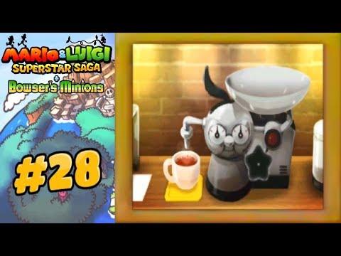 Mario Luigi Superstar Saga Bowser S Minions Part 28 Beanstar Pieces Starbeans Cafe