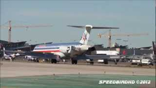 American Airlines McDonnell Douglas DC-9-82(MD-82) [N581AA] Landing