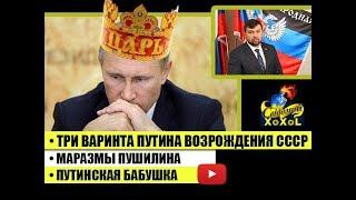 Три варинта Путина возрождения СССР • Маразмы Пушилина • Путинская бабушка