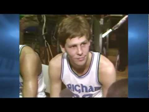 Danny Ainge scores 35 points against Utah in 1981