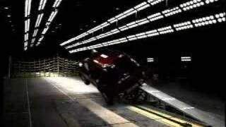 General Motors New Rollover Crash Test Facility