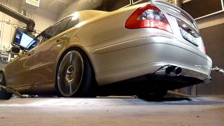 Mercedes E420 CDI 414hp/1005nm dyno test @Kleemann HQ