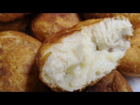 Пончики с заварным кремом / Воздушные Пончики / Irinochka HandMade