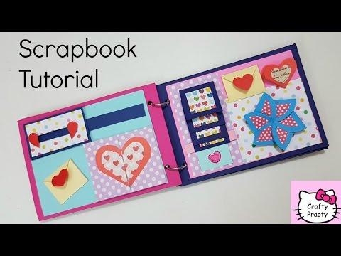 scrapbook-tutorial/how-to-make-scrapbook/diy-scrapbook-tutorial/birthday-scrapbook-ideas