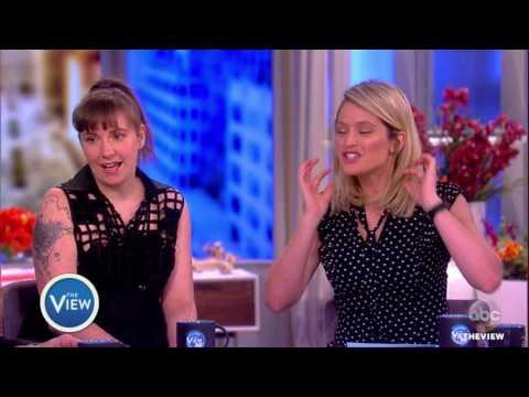 Lena Dunham Talks Final Season Of 'Girls', Women's March | The View