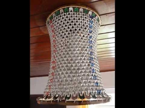 Resultado de imagem para reciclagem de lacres de latinhas decoração