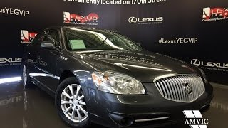 Used 2011 Grey Buick Lucerne CXL Walkaround Review | Fort Saskatchewan Alberta