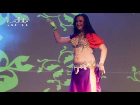 Marina Shiskova from Russia @ LdB Greece International Oriental Dance Festival