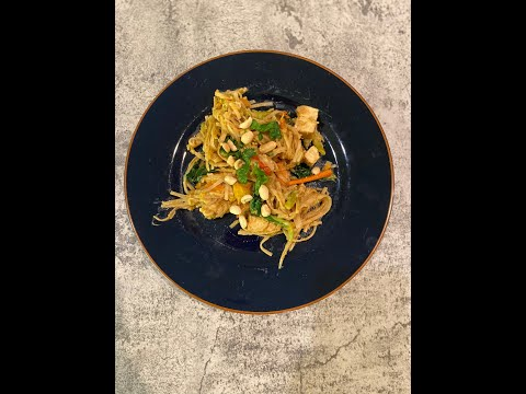 Instant Pot Vegetarian Pad Thai