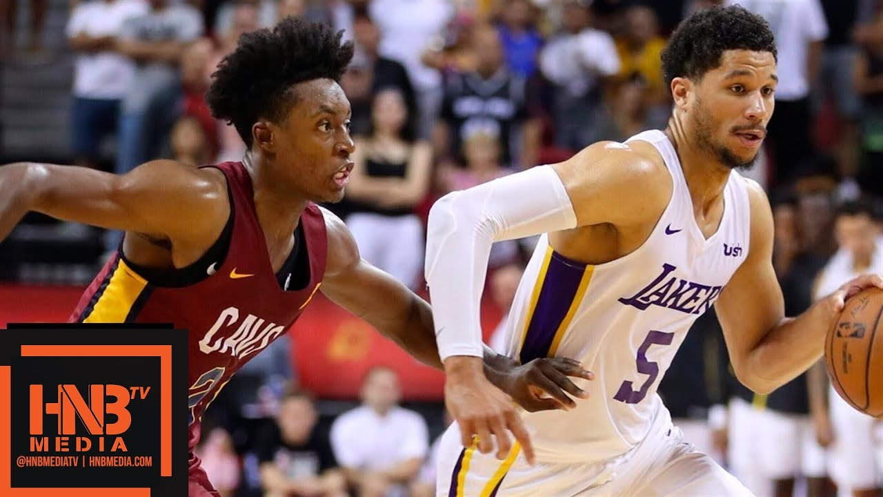 a5b8128a8 Cleveland Cavaliers vs Los Angeles Lakers Full Game Highlights   July 16    2018 NBA Summer League