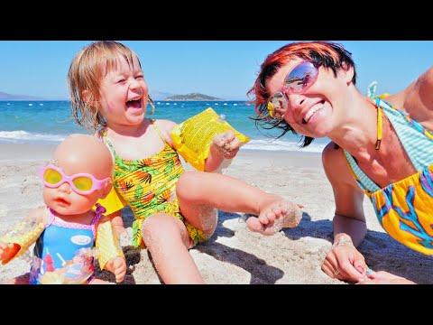 Бьянка, Беби Бон Эмили и Маша Капуки на пляже в Турции - Привет, Бьянка!