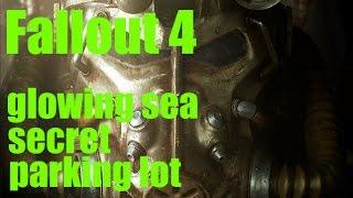 Fallout 4 -secret parking lot in glowing sea- 4