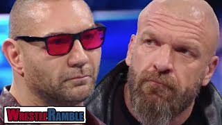 Batista RETURNING To Face Triple H?! WWE SmackDown, Oct. 16, 2018 Review | WrestleTalk WrestleRamble